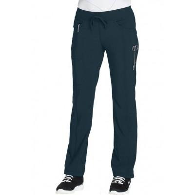 Pantalon à cordon Infinity bleu Caraïbes