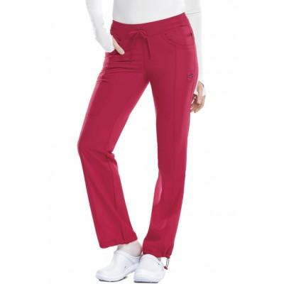 Pantalon à cordon Infinity rouge