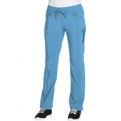 Pantalon à cordon Infinity turquoise