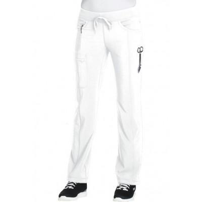 Pantalon à cordon Infinity blanc