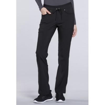 Pantalon à jambe ajustée iFlex noir
