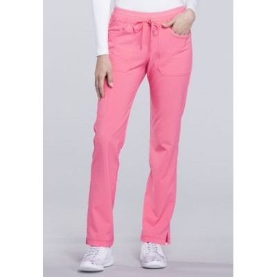 Pantalon à jambe ajustée iFlex rose karma