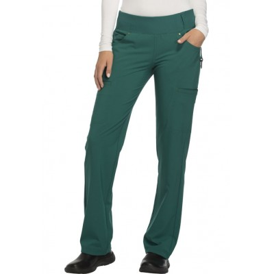 Pantalon taille élastique iFlex vert chasseur