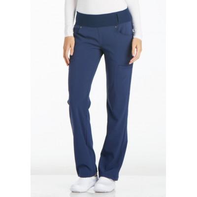 Pantalon taille élastique iFlex bleu marin