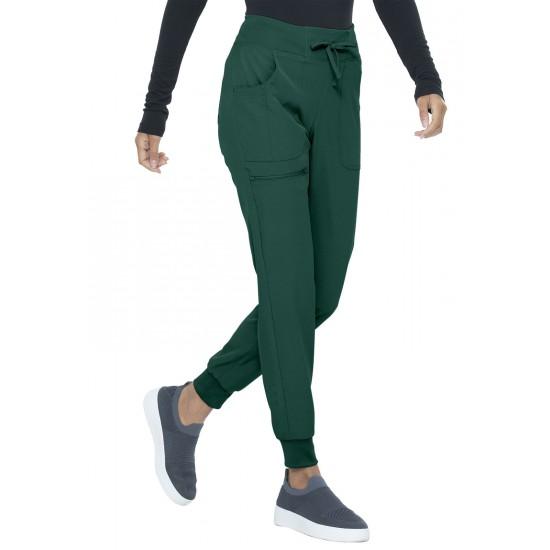 Pantalon ''skinny'' vert chasseur Heartsoul