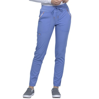 Pantalon à cordon à jambe étroite bleu ciel Cherokee