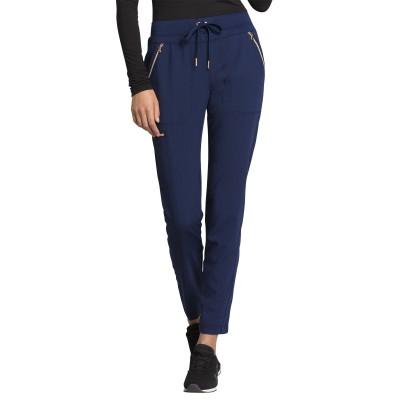 Pantalon à cordon à jambe étroite bleu marin Cherokee