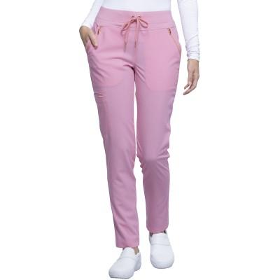 Pantalon à cordon à jambe étroite rose Cherokee