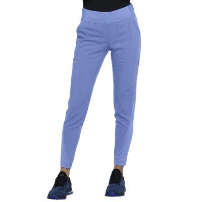 Pantalon à jambe étroite bleu ciel Cherokee
