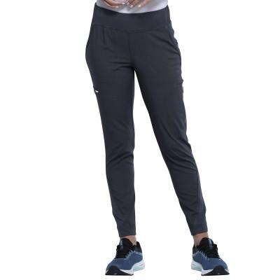 Pantalon à jambe étroite gris charbon Cherokee