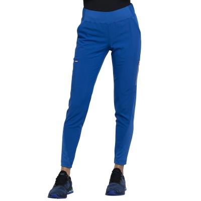 Pantalon à jambe étroite bleu royal Cherokee